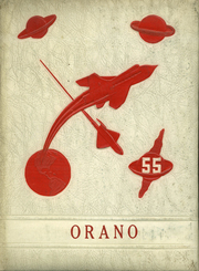 1955 Edition, Orangeville High School - Orano Yearbook (Orangeville, IL)