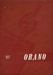 1957 Edition, Orangeville High School - Orano Yearbook (Orangeville, IL)