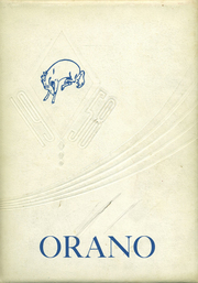 1958 Edition, Orangeville High School - Orano Yearbook (Orangeville, IL)
