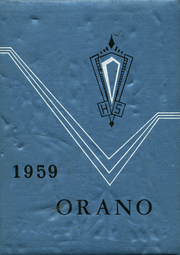 Page 1, 1959 Edition, Orangeville High School - Orano Yearbook (Orangeville, IL) online yearbook collection