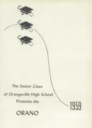 Page 5, 1959 Edition, Orangeville High School - Orano Yearbook (Orangeville, IL) online yearbook collection