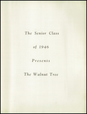 Page 7, 1946 Edition, Walnut High School - Tree Yearbook (Walnut, IL) online yearbook collection