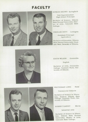 Page 8, 1959 Edition, Blue Mound High School - Blu Mo Illio Yearbook (Blue Mound, IL) online yearbook collection