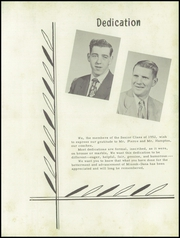 Page 7, 1952 Edition, Minonk Dana Rutland High School - Tomahawk Yearbook (Minonk, IL) online yearbook collection