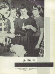 Page 5, 1952 Edition, La Harpe High School - Eagle Yearbook (La Harpe, IL) online yearbook collection