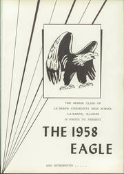 Page 5, 1958 Edition, La Harpe High School - Eagle Yearbook (La Harpe, IL) online yearbook collection