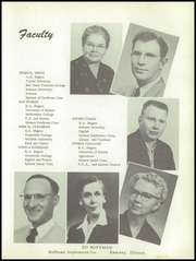 Page 11, 1956 Edition, Ramsey High School - Memories Yearbook (Ramsey, IL) online yearbook collection