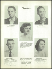 Page 14, 1956 Edition, Ramsey High School - Memories Yearbook (Ramsey, IL) online yearbook collection