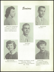 Page 15, 1956 Edition, Ramsey High School - Memories Yearbook (Ramsey, IL) online yearbook collection