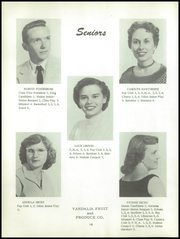 Page 16, 1956 Edition, Ramsey High School - Memories Yearbook (Ramsey, IL) online yearbook collection