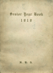 Bradford High School - Bradonian Yearbook (Bradford, IL) online yearbook collection, 1919 Edition, Page 1
