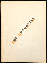 Bradford High School - Bradonian Yearbook (Bradford, IL) online yearbook collection, 1937 Edition, Page 1