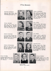 Page 13, 1940 Edition, Bradford High School - Bradonian Yearbook (Bradford, IL) online yearbook collection