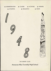 Page 9, 1948 Edition, Annawan High School - Tom Tom Echoes Yearbook (Annawan, IL) online yearbook collection