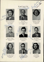 Page 12, 1949 Edition, Annawan High School - Tom Tom Echoes Yearbook (Annawan, IL) online yearbook collection