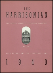 Page 7, 1940 Edition, Harrison Technical High School - Harrisonian Yearbook (Chicago, IL) online yearbook collection