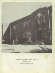 Page 7, 1956 Edition, Thomas Jefferson High School - El Capitan Yearbook (El Paso, TX) online yearbook collection