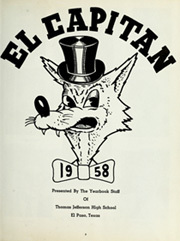 Page 7, 1958 Edition, Thomas Jefferson High School - El Capitan Yearbook (El Paso, TX) online yearbook collection