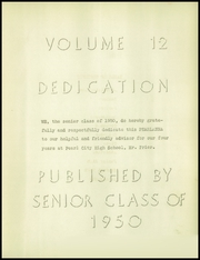 Page 9, 1950 Edition, Pearl City High School - Pearlanna Yearbook (Pearl City, IL) online yearbook collection