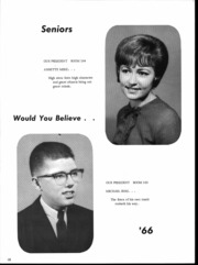 Page 12, 1966 Edition, St Anthony High School - Quest Yearbook (Effingham, IL) online yearbook collection