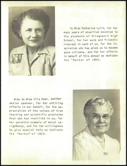 Page 9, 1955 Edition, Bridgeport Township High School - Blue and White Yearbook (Bridgeport, IL) online yearbook collection