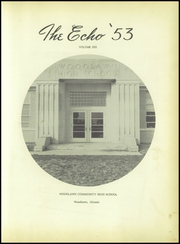 Page 5, 1953 Edition, Woodlawn High School - Echo Yearbook (Woodlawn, IL) online yearbook collection