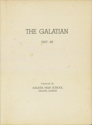 Page 5, 1948 Edition, Galatia High School - Galatian Yearbook (Galatia, IL) online yearbook collection