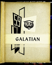 Galatia High School - Galatian Yearbook (Galatia, IL) online yearbook collection, 1959 Edition, Page 1