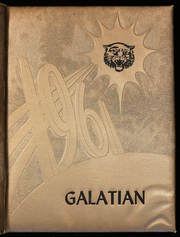 Galatia High School - Galatian Yearbook (Galatia, IL) online yearbook collection, 1961 Edition, Page 1