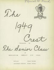 Page 3, 1949 Edition, Morrisonville High School - Crest Yearbook (Morrisonville, IL) online yearbook collection