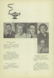 Page 12, 1950 Edition, Morrisonville High School - Crest Yearbook (Morrisonville, IL) online yearbook collection