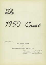 Page 5, 1950 Edition, Morrisonville High School - Crest Yearbook (Morrisonville, IL) online yearbook collection