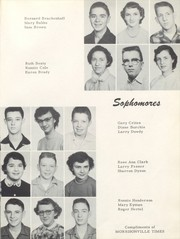 Page 29, 1955 Edition, Morrisonville High School - Crest Yearbook (Morrisonville, IL) online yearbook collection
