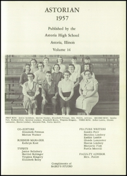 Page 7, 1957 Edition, Astoria High School - Astorian Yearbook (Astoria, IL) online yearbook collection