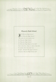 Page 10, 1925 Edition, Waverly High School - Wave Yearbook (Waverly, IL) online yearbook collection
