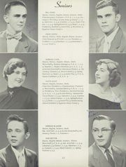 Page 16, 1954 Edition, Waverly High School - Wave Yearbook (Waverly, IL) online yearbook collection