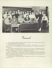 Page 7, 1954 Edition, Waverly High School - Wave Yearbook (Waverly, IL) online yearbook collection