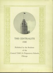 Page 5, 1926 Edition, Central YMCA High School - Centralite Yearbook (Chicago, IL) online yearbook collection