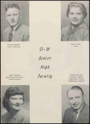 Page 16, 1954 Edition, DeLand Weldon High School - Spotlight Yearbook (Weldon, IL) online yearbook collection