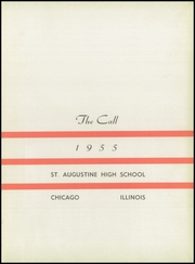 Page 5, 1955 Edition, St Augustine High School - Call Yearbook (Chicago, IL) online yearbook collection