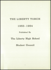 Page 7, 1954 Edition, Liberty High School - Torch Yearbook (Liberty, IL) online yearbook collection