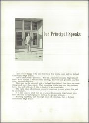Page 10, 1956 Edition, Leland High School - Panther Yearbook (Leland, IL) online yearbook collection