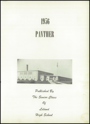 Page 7, 1956 Edition, Leland High School - Panther Yearbook (Leland, IL) online yearbook collection
