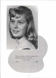 Page 8, 1963 Edition, Leland High School - Panther Yearbook (Leland, IL) online yearbook collection