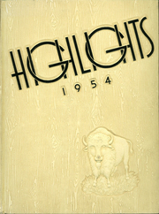 1954 Edition, Bensenville Community High School - Highlights Yearbook (Bensenville, IL)
