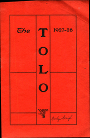 Toulon Township High School - Tolo Yearbook (Toulon, IL) online yearbook collection, 1928 Edition, Page 1