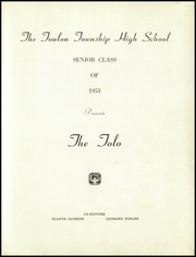 Page 5, 1953 Edition, Toulon Township High School - Tolo Yearbook (Toulon, IL) online yearbook collection