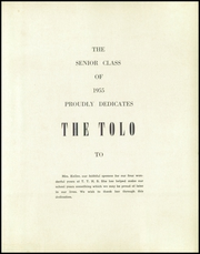 Page 9, 1955 Edition, Toulon Township High School - Tolo Yearbook (Toulon, IL) online yearbook collection