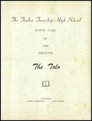 Page 5, 1956 Edition, Toulon Township High School - Tolo Yearbook (Toulon, IL) online yearbook collection