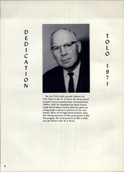 Page 8, 1971 Edition, Toulon Township High School - Tolo Yearbook (Toulon, IL) online yearbook collection